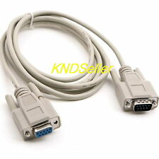 1M 3ft ( Serial 9Pin Extension Cable ) Male to Female  RS232 DB9 9 Pin M-F