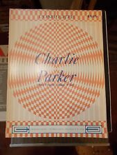 COMPLETE CHARLIE PARKER SPARTITO SHEET MUSIC CHARLES COLIN