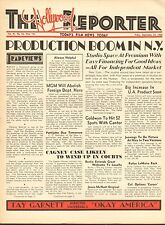 SEPT 23 1932 THE HOLLYWOOD REPORTER movie magazine - PRODUCTION BOOM IN N.Y.