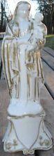Vierge à l'Enfant Jesus XIX ème Porcelaine Vieux Paris