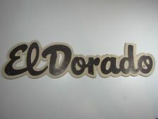 Vintage El Dorado Travel Trailer Emblem Badge Ornament Camper RV Airstream Rare
