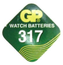 SR62 silver oxide watch battery (GP317 V317 SR516SW)