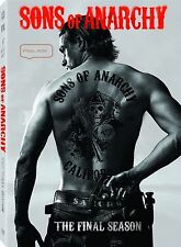 Sons of Anarchy: The Complete  Season 7  FINAL RIDE (DVD 5 Disc Set)