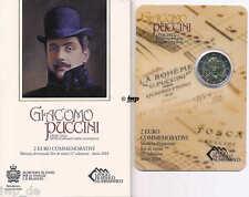 +++ 2 EURO Gedenkmünze SAN MARINO 2014 - Giacomo Puccini - Rarität +++