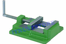 "4"" INCH FLAT METAL STEEL MACHINIST CLAMP VICE WORK HOLDER FOR DRILL PRESS VISE"