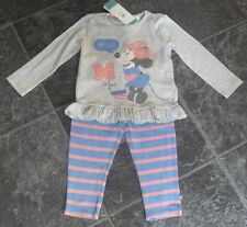 EX Store Disney Minnie Mouse 9-12 mesi pigiama invernale nuovo con etichetta