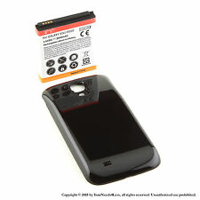 5600mAh Extended Battery for Samsung Galaxy S 4 IV i9500 Black Cover