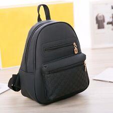 Fashion Women Lady Leather Travel School Bag Backpack Shoulder Rucksack Satchel