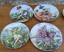 Wedgwood X 4 Plates From The World Of The Flower Fairies