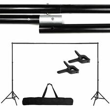 Photography Adjustable 10Ft Background Support Stand Photo Crossbar Studio