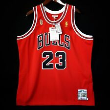 100% Authentic Michael Jordan Mitchell & Ness 96 97 Finals Bulls Jersey 52 2XL