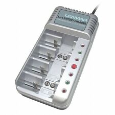 22% OFF: Lenmar Pro-541 Universal NiMH NiCd Battery Charger AAA, AA, C, D, 9V