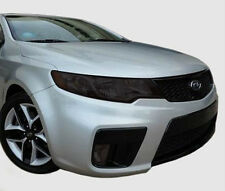 FITS 2010-2013 Kia Forte Koup vinyl overlays headlight tints front kit
