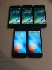 LOT OF 5 TESTED BLACK & SLATE GSM AT&T APPLE iPhone 5 16GB PHONES