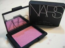NARS POWDER BLUSH ANGELIKA (Cotton candy pink + gold/silver sparkle)- BNIB