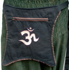 ♥ OM Gürteltasche ♥ NEPAL Bauchtasche Festivalgürtel Hippie Ethno
