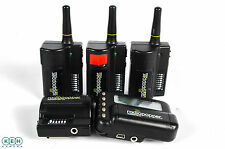 Radiopopper Transmitter Jr2 and JrX with 4 Radiopopper Receivers