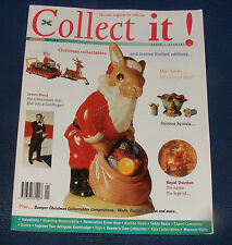 COLLECT IT! ISSUE 7 JANUARY 1998 - JAMES BOND/HORNSEA/MINI BOTTLES