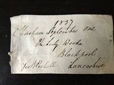 GEORGE BROOKE PECHELL - POLITICIAN & NAVAL VICE ADMIRAL - SIGNED ENVELOPE FRONT