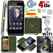 4.7,Zoll 4G LTE Android 6.0 Smartphone Handy Quad Core 16GB+2GB Waterproof IP68