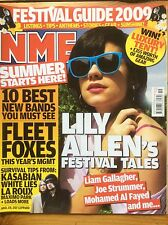 NME 09/05/2009 Lily Allen cover, Fleet Foxes, Burt Bacharach