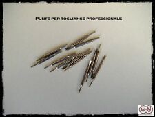 Punta di ricambio acciaio inox per toglianse professionale