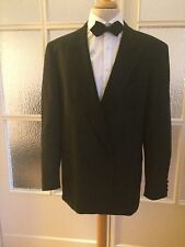 Smoking Dinner Jacket Sakko Schwarz Gr 102 Wilvorst Top Zustand