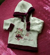 3-6 months girl  winter warm hoodie fluffy jumper pullover sweatshirt jacket
