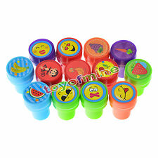 36PCS Self-ink Stamps Kids Birthday Party Gift Boy Girl Goody Bag Fun Stationery