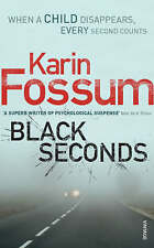 Acceptable, Black Seconds, Fossum, Karin, Book