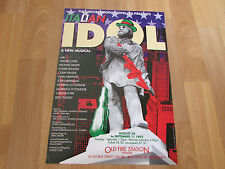 ITALIAN  Idol New Musical  Old Fire Station Theatre  OXFORD Original Poster 1993