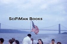 KODACHROME 35mm Slide New York City Dayline Cruise George Washington Bridge 1962