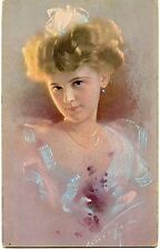 CARTE POSTALE / POSTCARD / ILLUSTRATEUR / FEMME LADY