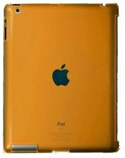 iPad 2 CRYSTAL Orange SLIM HARD BACK CASE Snap-on iPad2 Hard Back Cover/Case