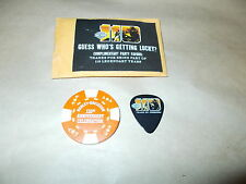 HARLEY DAVIDSON 2013 110TH ANNIVERSARY MILWAUKEE POKER CHIP AND PICK IN PACKAGE