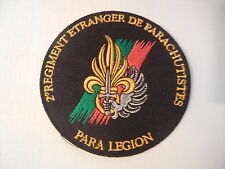 LEGION      PARAS       2°REP       rond             patch  neuf  thermocollable