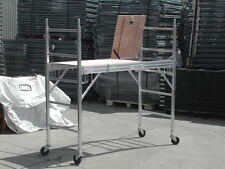 Aluminum Scaffold Rolling Tower with Hatch Deck U Locks
