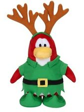 Disney CLUB PENGUIN Series 5 ELF REINDEER Plush Only No Coin Stuffed Toy
