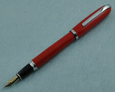 Baoer 516 Red Fountain Pen Medium Nib