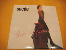 Cardsleeve Single CD SUEDE She's In Fashion PROMO 1TR 1999 indie rock
