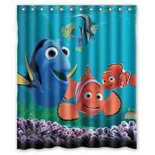 Custom Finding Nemo Special Pattern Design Bathroom Shower Curtain Decor 60x 72
