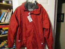 NEW North End weather resistant fleece lined jacket with Budwieser patch Large