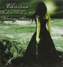 "CHRISTINA  – ""Broken Lives & Bleeding Hearts"" SEALED 2010 MAGENTA VOCALIST"