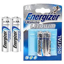 2 x Energizer AA ULTIMATE LITHIUM BATTERIEN - LR06 - LR6 - 3000 mAh - 1,5 Volt