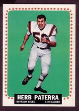1964 TOPPS HERB PATERRA CARD NO:33 HP24 NEAR MINT CONDITION