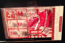 Barbie Basics Look 02 Collection Red Accessory Pack Heels NRFB 2011 Target Rare