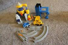 Fisher Price GeoTrax Train Track 7pc Lot Water Works Fill Co. Pieces Quarry Load