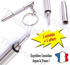 Kit de réparation avec porte-clés Portable tournevis outils à main pour lunettes