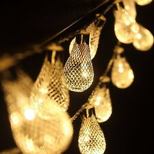 2M 20LED Drip Fairy String Lights Wedding Party Christmas Garden Outdoor Decor