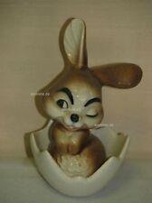 L00022_01 Goebel Porzellan Figur Hase sitzt in Eierschale, Bunny, 34-811